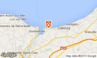 Mappa Cabourg Casa 10769