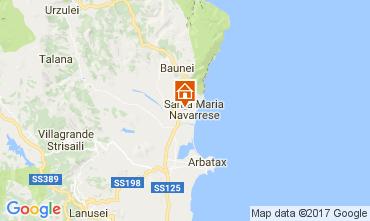 Mappa Santa Maria Navarrese Villa  110022