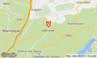 Mappa Valensole Villa  101509