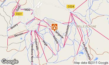Mappa La Plagne Appartamento 63264