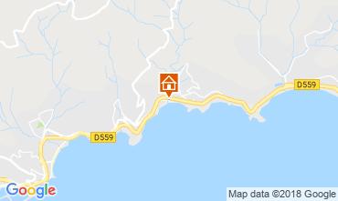 Mappa Le Lavandou Appartamento 117249