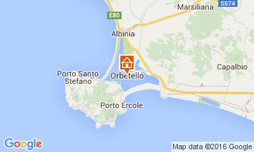 Mappa Monte Argentario Appartamento 89887