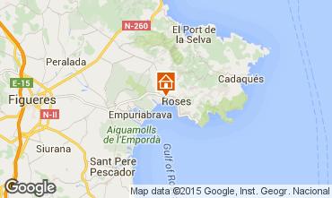 Mappa Rosas Appartamento 50542
