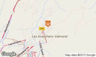 Mappa Valmorel Appartamento 76578