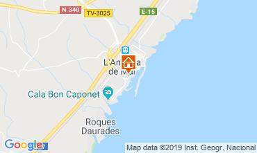 Mappa La Ametlla de Mar Appartamento 119884