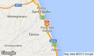 Mappa Porto San Giorgio Appartamento 76220