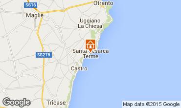 Mappa Santa Cesarea Terme Villa  78977