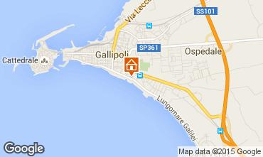 Mappa Gallipoli Appartamento 89231