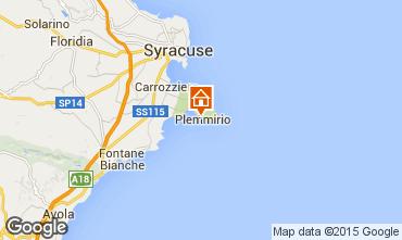Mappa Siracusa Villa  83545