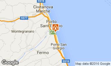 Mappa Porto San Giorgio Casa mobile 86295