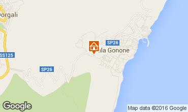 Mappa Cala Gonone Appartamento 102091
