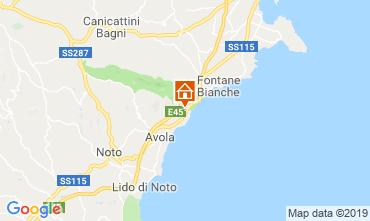 Mappa Avola Villa  95053
