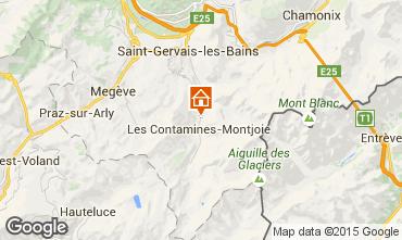 Mappa Les Contamines Montjoie Monolocale 83214