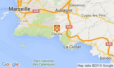 Mappa Cassis Appartamento 104495