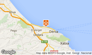 Mappa Dénia Appartamento 31192