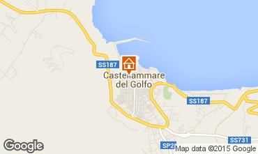 Mappa Castellammare del Golfo Appartamento 70426