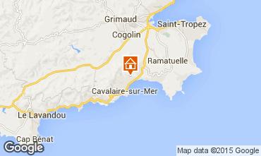 Mappa Cavalaire-sur-Mer Appartamento 83249