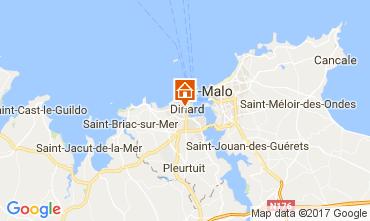 Mappa Dinard Appartamento 109008