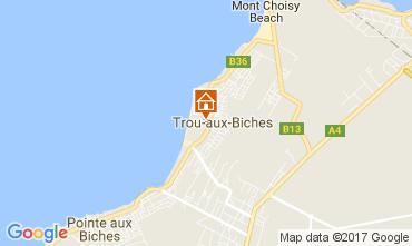 Mappa Trou-aux-biches Appartamento 18911