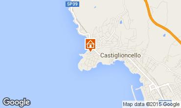 Mappa Castiglioncello Appartamento 72083