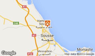 Mappa Susa (Sousse) Appartamento 80547