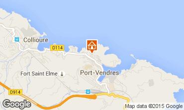 Mappa Collioure Appartamento 49274
