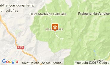 Mappa Les Menuires Appartamento 111788