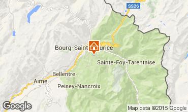 Mappa Les Arcs Appartamento 324