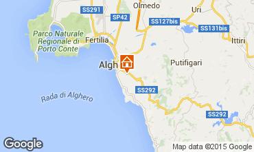 Mappa Alghero Villa  47678