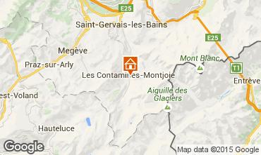 Mappa Les Contamines Montjoie Appartamento 74055