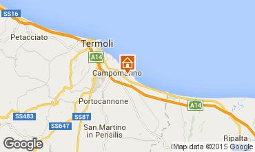 Mappa Campomarino Appartamento 18458