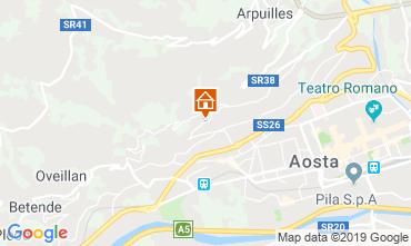 Mappa Aosta Appartamento 75618