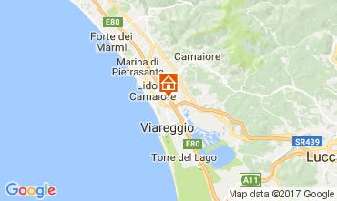Mappa Viareggio Villa  109039