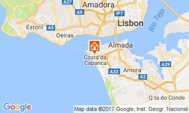 Mappa Costa de Caparica Appartamento 108440