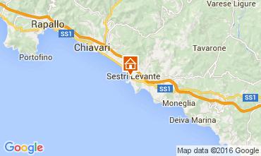 Mappa Sestri Levante Appartamento 102214