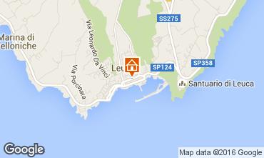 Mappa Santa Maria di Leuca Appartamento 79206