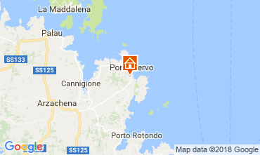 Mappa Porto Cervo B&B insolito 115523