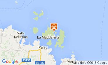 Mappa La Maddalena Appartamento 99267