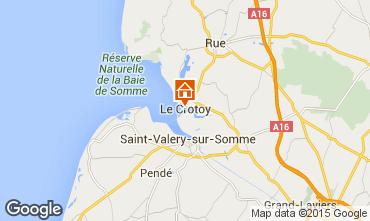 Mappa Le Crotoy Casa 64382