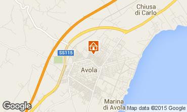 Mappa Avola Casa 82687