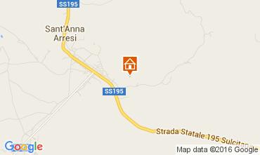 Mappa Sant'Anna Arresi Appartamento 80071