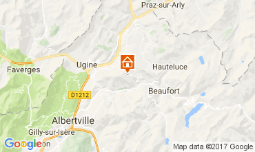 Mappa Les Saisies Appartamento 111117