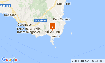 Mappa Villasimius Casa 100655