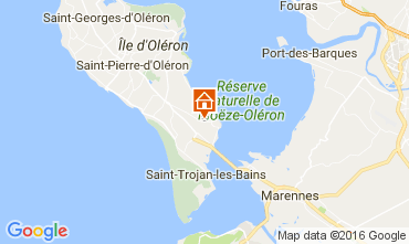 Mappa Le Château d'Oléron Casa 107551
