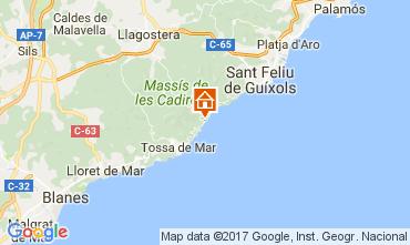 Mappa Lloret de Mar Appartamento 50869