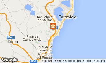 Mappa Torrevieja Villa  39657