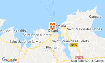 Mappa Dinard Appartamento 117539