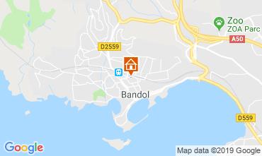 Mappa Bandol Appartamento 119366