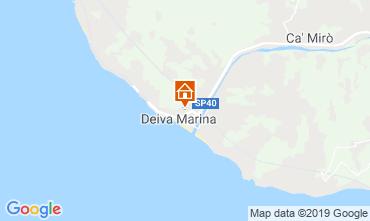 Mappa Deiva Marina Appartamento 118970