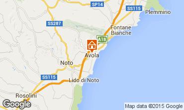 Mappa Avola Casa 52247